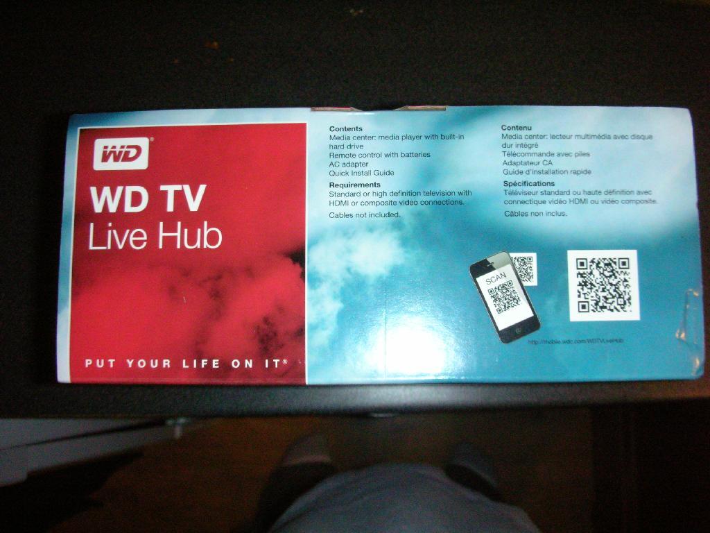 Firmware-update: Western Digital WD TV Live 2.03.20 ...